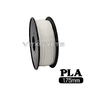 Пластиковая нить PLA, 1.75 мм, 1 кг белый