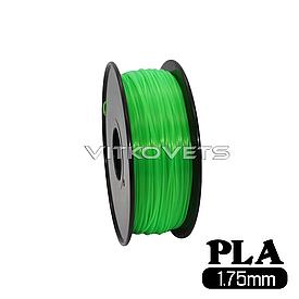 Пластиковая нить PLA, 1.75 мм, 1 кг зеленый