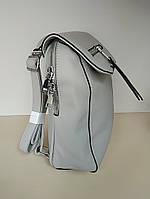 Рюкзак женский светло серый
