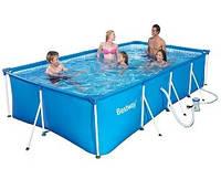 Басейн каркас Bestway 56424 Splash Frame Pools 400х211х81 см