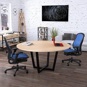 Круглый стол для переговоров D-1600 Loft design