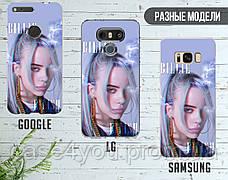 Силиконовый чехол для Samsung A107 Galaxy A10s Билли Айлиш (Billie Eilish) (13017-1603), фото 3