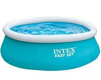 Бассейн надувной Intex 28101 Intex Easy Set Pool 183х51 см, голубой, фото 1