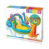 Детский надувной игровой центр Планета Динозавров Intex 57135, фото 2