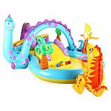 Детский надувной игровой центр Планета Динозавров Intex 57135, фото 3
