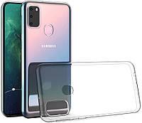 Прозрачный силиконовый чехол Samsung Galaxy M21 (2020)