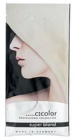 Блонд-порошок порционный Super Blond Professional Coloration C:EHKO