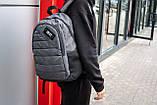 Рюкзак спортивний чоловічий OFF WHITE GRAY TROW сірий, фото 2