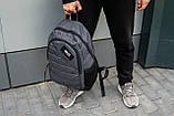 Рюкзак спортивний чоловічий OFF WHITE GRAY TROW сірий, фото 5