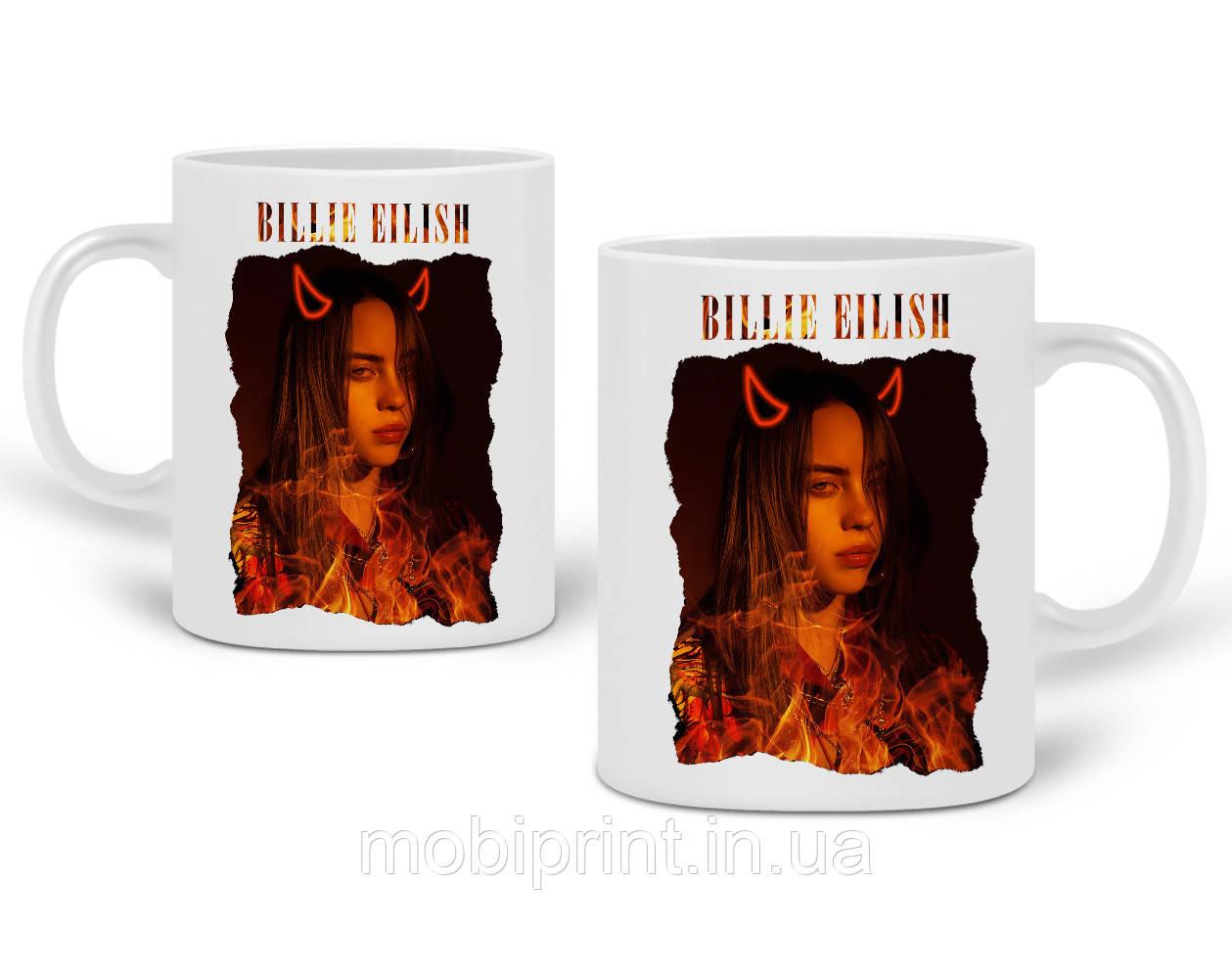Кружка Біллі Айлиш (Billie Eilish) 330 мл Чашка Керамічна (20259-1602)