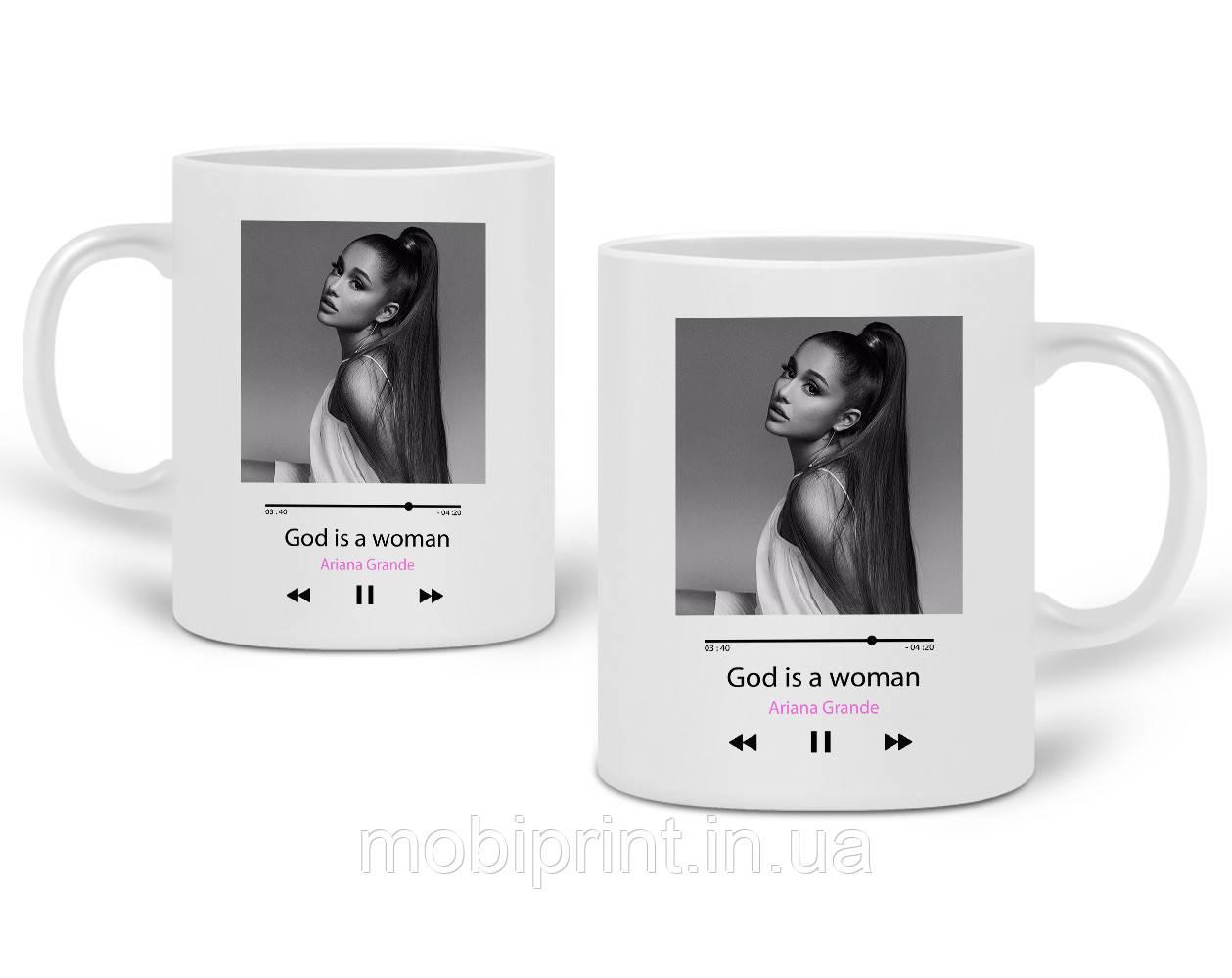 Кружка Ариана Гранде (Ariana Grande) 330 мл Чашка Керамическая (20259-1624)