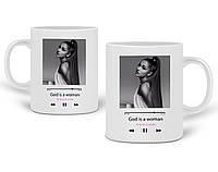 Кружка Ариана Гранде (Ariana Grande) 330 мл Чашка Керамическая (20259-1624), фото 1