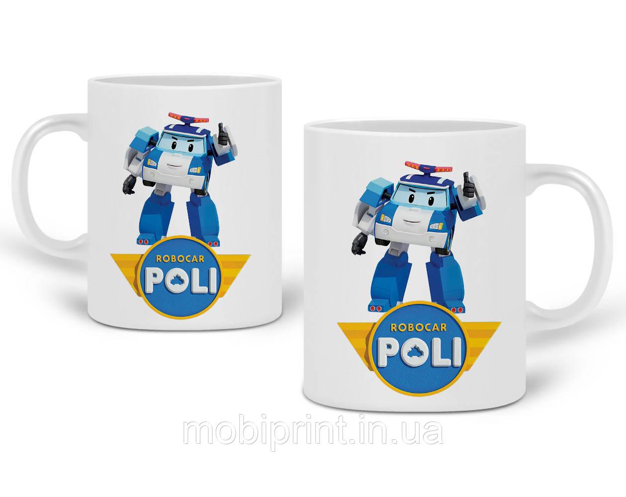 Кружка Робокар Поли (Robocar Poli) 330 мл Чашка Керамическая (20259-1620)