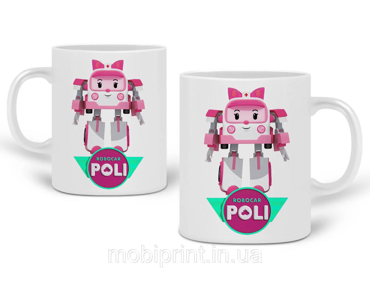 Кружка Робокар Поли (Robocar Poli) 330 мл Чашка Керамическая (20259-1621)