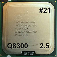 Процессор ЛОТ#21 Intel Core 2 Quad Q8300 R0 SLGUR 2.5GHz 4M Cache 1333 MHz FSB Socket 775 Б/У, фото 1