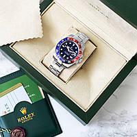 Часы  Rolex GMT-Master II механические. реплика ААА класса