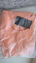 Летнее короткое платье мини по фигуре персиковое, фото 2