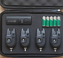 Набор сигнализаторов 4+1 пейджер Feima в кейсе FA 02-4
