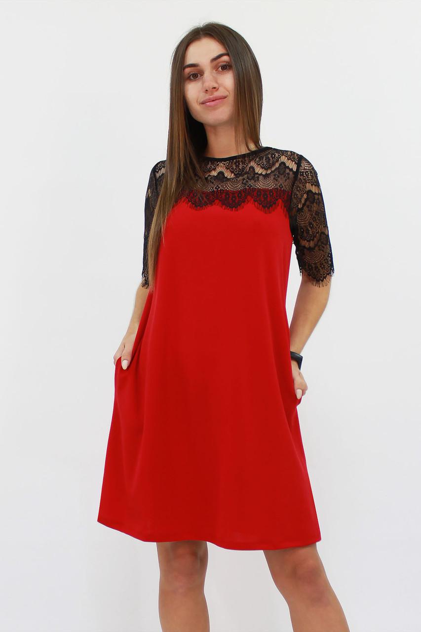 S, M | Коктейльне жіноче плаття Arizona, червоний