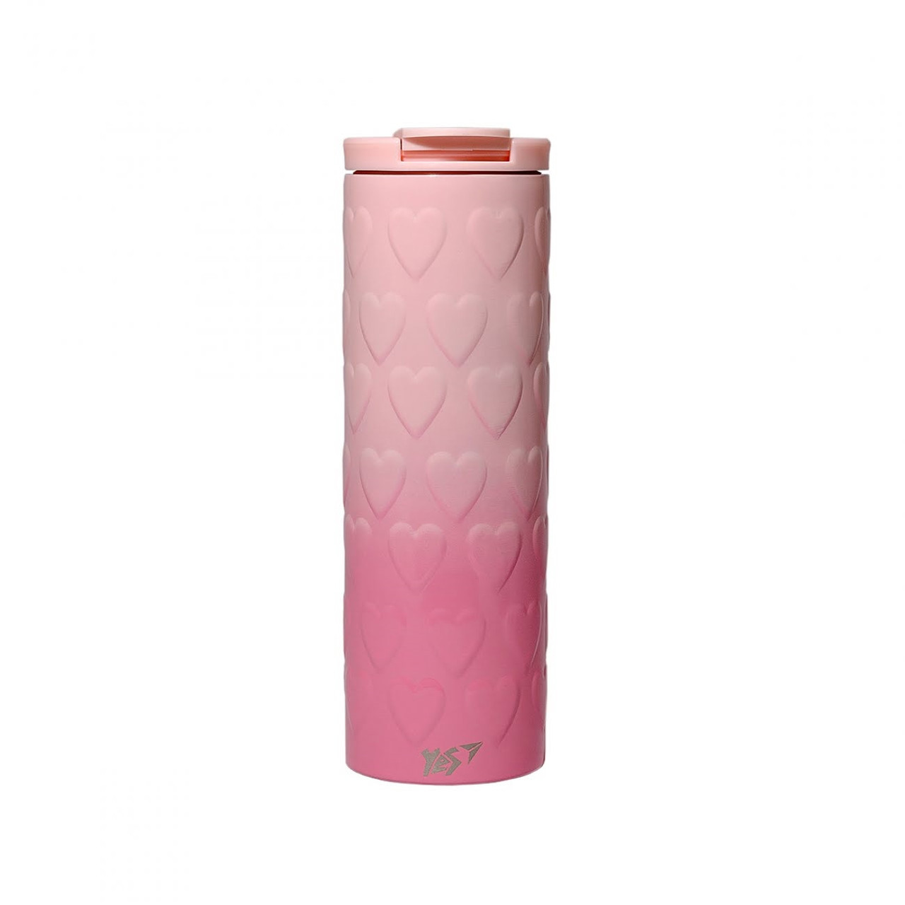 "Термочашка 420мл ""Yes"" Pink Heart №707336"