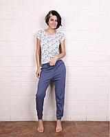 Женская одежда для дома/женский домашний комплект (футболка+брюки)  YOU&ME