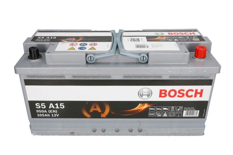 BOSCH 105Ah/950А START&STOP AGM R+