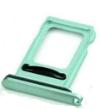 Держатель Sim-карты для iPhone 11 , зеленый, на одну Sim-карту