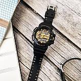 Часы електроные sanda 599 черные, фото 3