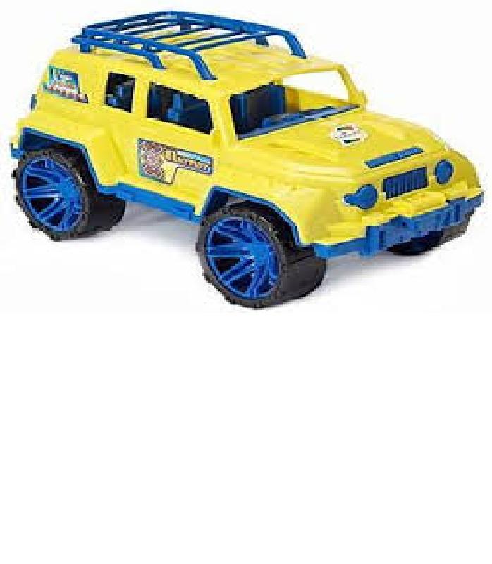Автомобиль Джип  желтый  Орион