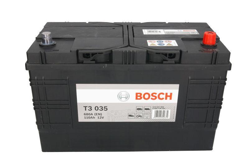 BOSCH 110Ah/680A T3 R+