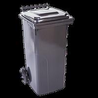 Мусорный бак для твердых бытовых отходов 120 литров, фото 1