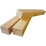 Деревянный брус для натяжных потолков 30×40 мм, фото 2