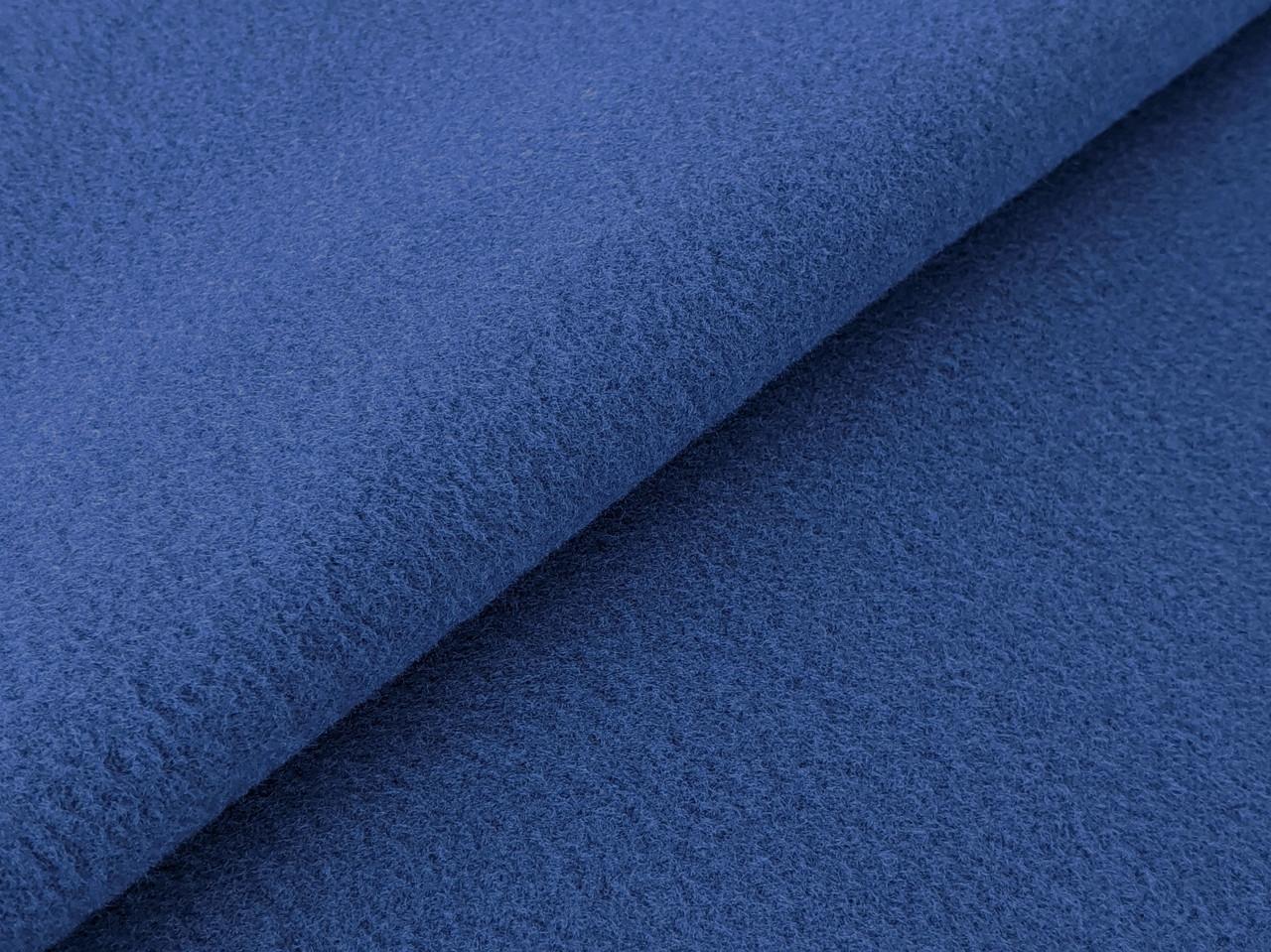 Кашемир пальтовый, темно-голубой