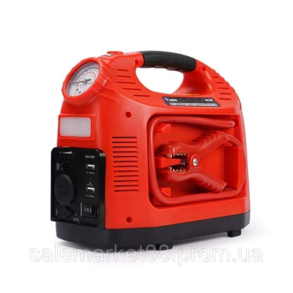 Портативный автомобильный компрессор НН 399 EMERGENCY POWER