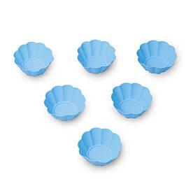 Набор из 6 силиконовых форм Kamille 7.5*7.5*3см KM-7708