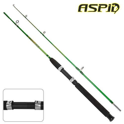 Спінінг короповий штекерний STENSON ASPID 2.4 м 100-250 г 2к вудка вудилище