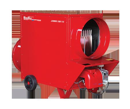 Теплогенератор мобільний газовий Ballu-Biemmedue Arcotherm JUMBO 200 T/C LPG/ 02AG53G-RK