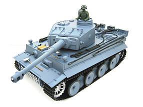 Танк на радиоуправлении 1:16 Heng Long Tiger I с пневмопушкой и и/к боем (Upgrade)