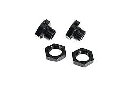 Team Magic E6 Wheel Adapter Set BK 2p