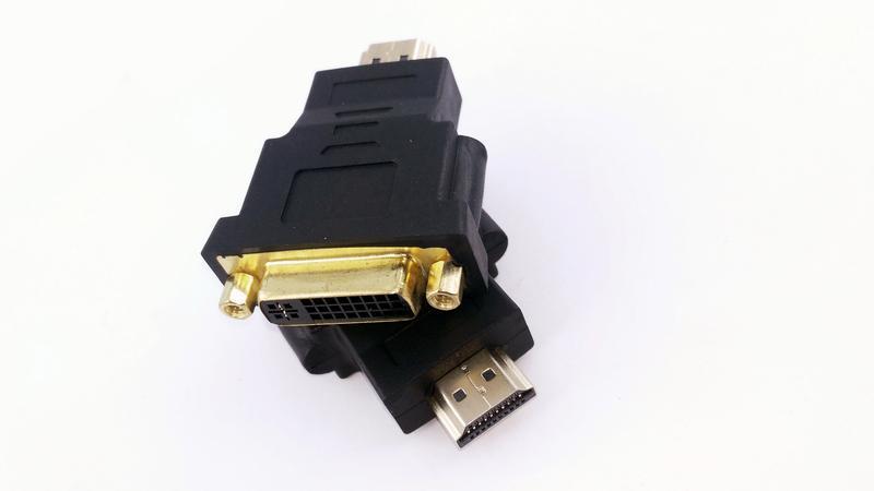 Архив Переходник DVI in to HDMI out (12480): 45 грн. - Порты, разъемы Ивано-Франковск на BESPLATKA.ua 76250372