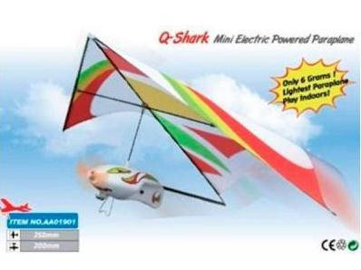 Самолёт (дельтаплан) электромоторный ZT Model Q-Shark 250мм, фото 2