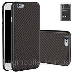 Чехол для iPhone 6 Plus, iPhone 6S Plus - Nillkin Synthetic fiber, Ultra Slim, пластик Черный