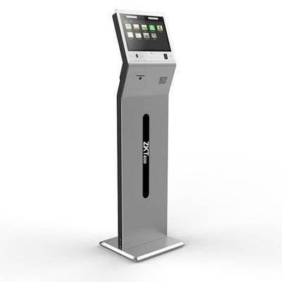 Многофункциональный биометрический терминал с измерением температуры FaceKiosk-H13C(TD)