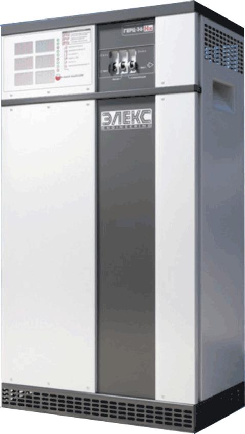Стабілізатор напруги ЕЛЕКС ГЕРЦ-ПРО 36-3/125 v3.0 (82,5 кВа)