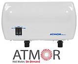 Проточний водонагрівач Atmor Basic 5 kw (Кран), фото 4