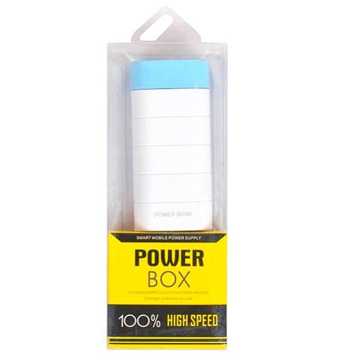 Power Bank Внешний аккумулятор 2000мАч USB Портативное зарядное 5В 1А