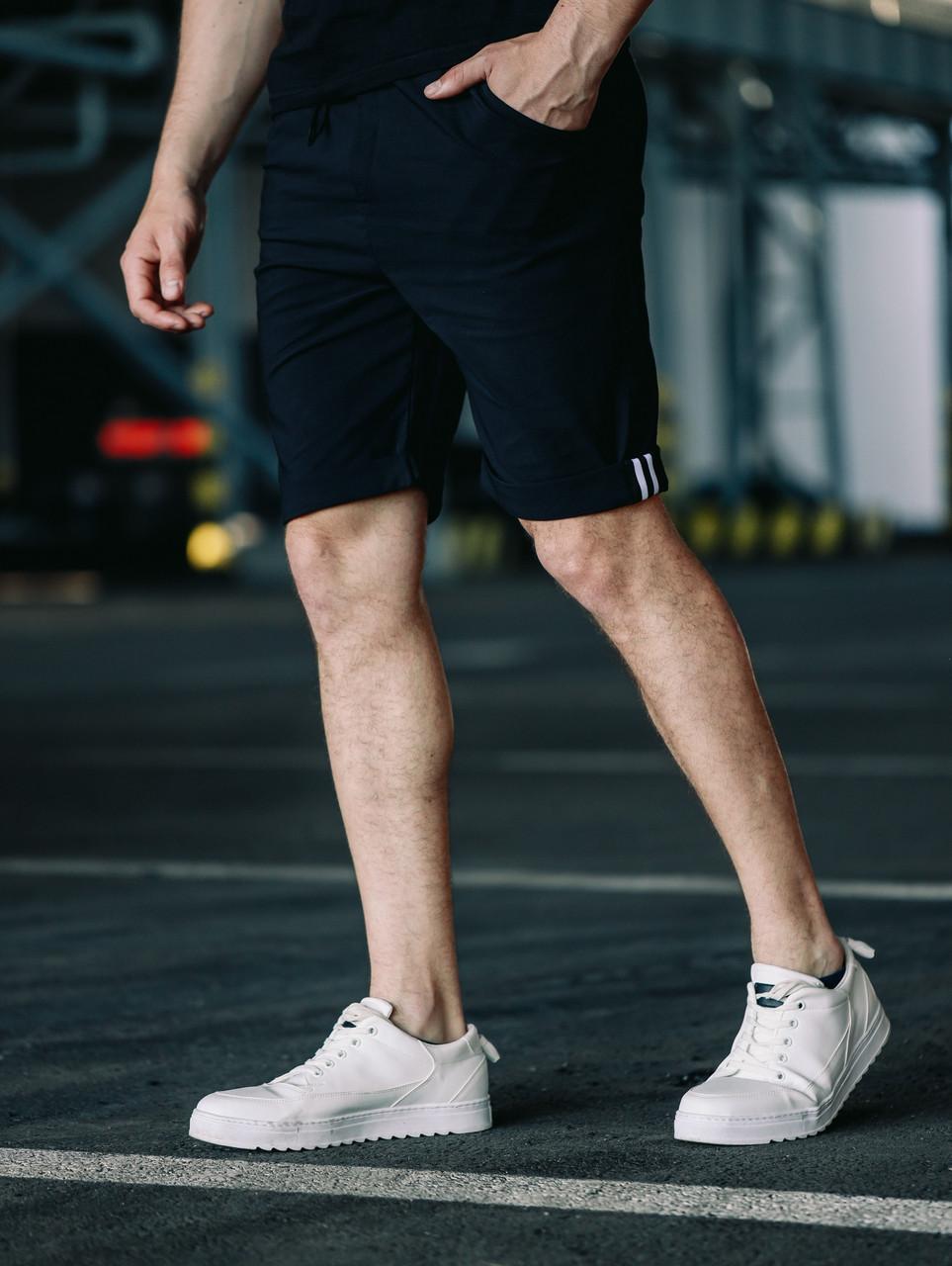 Мужские классические брюки, черные мужские классические шорты, черные шорты-брюки