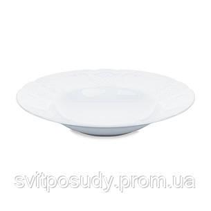 Тарелка 240 мм глубокая для пасты Kaszub Hel LUBIANA Польша 0222, фото 2