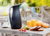 Термокувшин VIP 1 литр Tupperware. Зимой с Вами всегда горячий кофе или чай, а летом –  ледяной лимонад., фото 1