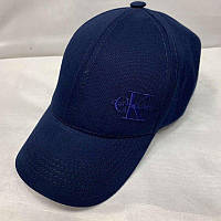 Бейсболка унисекс Calvin Klein реплика Темно-синяя